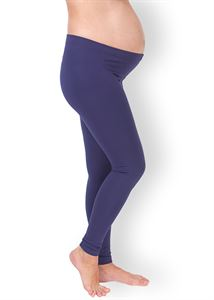 """Picture of Maternity tight  leggings """"Style""""  in eggplant"""