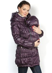 "Picture of Jacket ""Sandra"" plum demi 3in1"