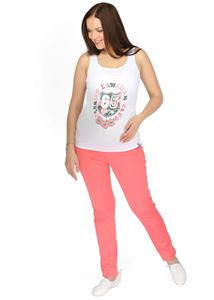 """Image de """"Amadea"""" Pantalon de maternité rouge"""
