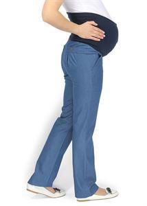 """Obrázek Kalhoty """"Ceíle"""" denim pro těhotné"""