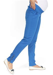 Picture of Ambra Maternity Trousers in cornflower
