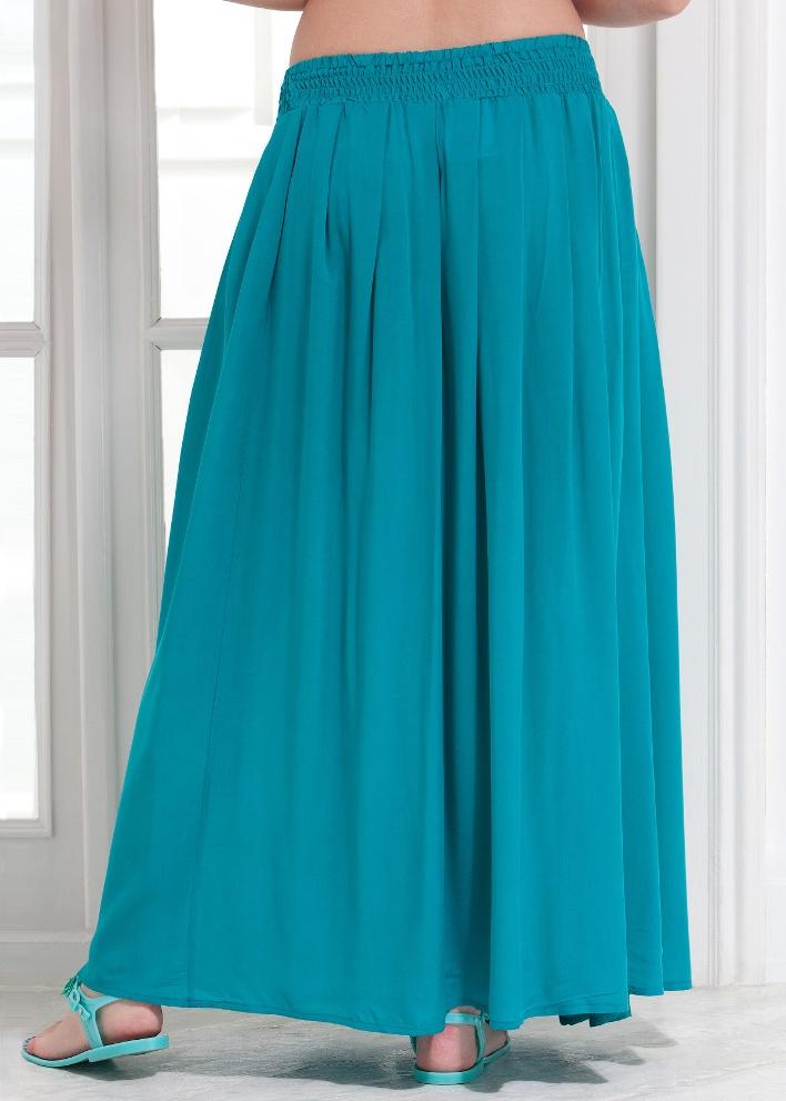 Длинные юбки на беременных 53