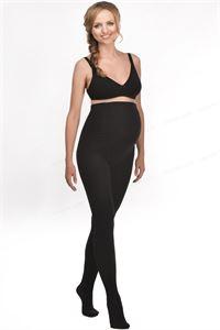Изображение Колготки для беременных 400 DEN махровые черные мод. 608