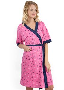 "Picture of ""Marsiay"" Maternity pink sit with little hearts"