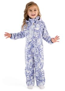 "Picture of Jumpsuit fleece ""Classic"" Indigo haunted"