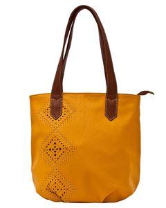 Bild von Bag Damen  Begslend 2374-08110 Farbe Senf Mit Perforation