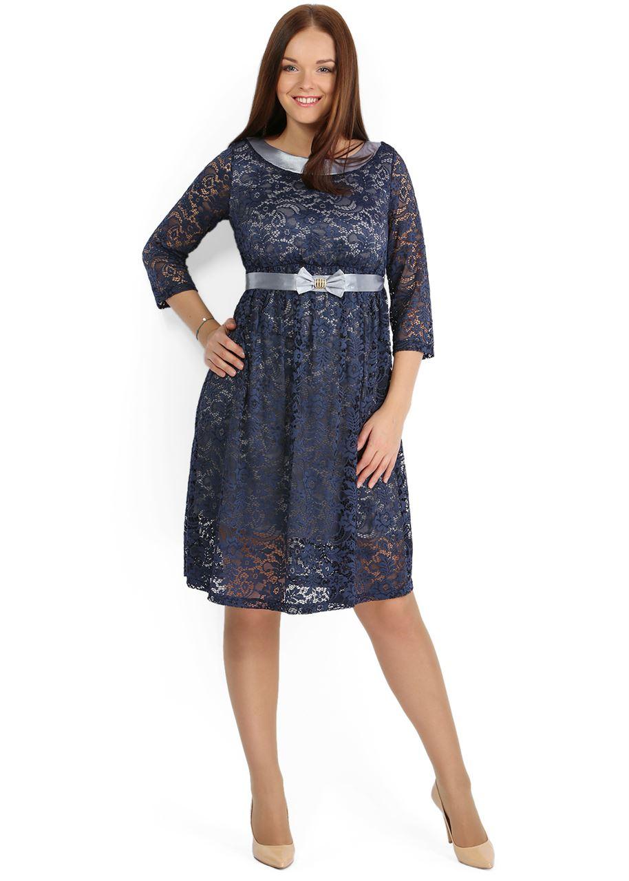 Платье для беременных гипюр