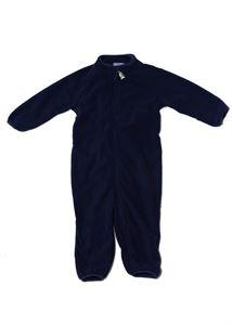 """Image de Salopettes pour enfants en polaire """"Danko""""; couleur: bleu foncé"""