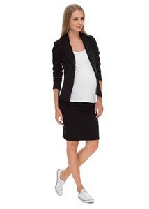 "Picture of ""Zenevieva"" Maternity black skirt 2 in 1"