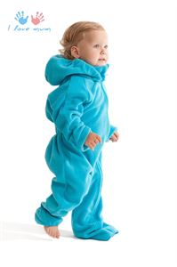 "Picture of Jumpsuit fleece ""Classic"" turquoise"