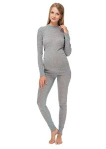 "Picture of Thermal underwear ""Norway"" melange maternity"
