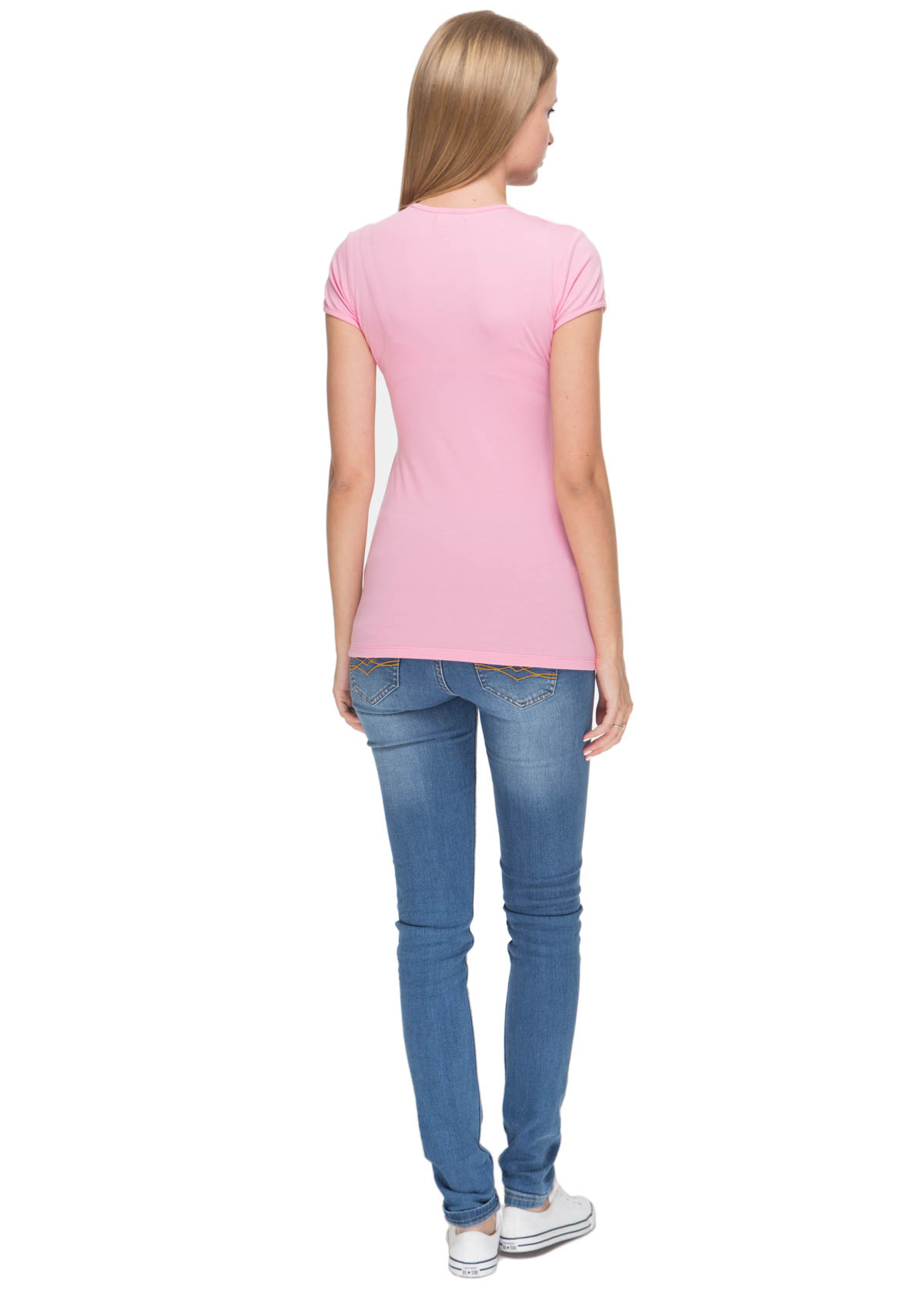Уралмама. Nursing T-shirt FH03; colour: soft pink
