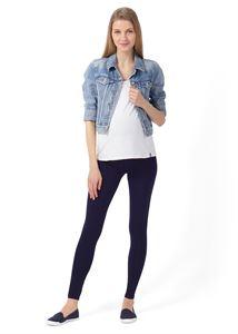 """Obrázek Legíny """"Step"""" pro těhotné; barva: tmavě modrá"""