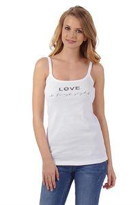 """Bild von """"Kate"""" Umstandsunterhemd ; Farbe: White/Print"""
