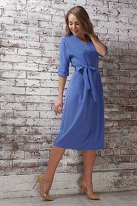 "Picture of Dress ""Ariadna""; color: blue"