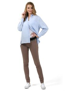 "Picture of ""Julian"" Maternity pants 2in1; color:  coffee"