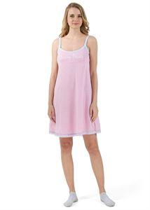 """Изображение Ночная сорочка """"Бетта"""" для беременных и кормящих; цвет: розовый"""