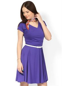 Picture of PV05 Maternity purple dress
