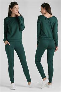 "Obrazek Kostium ""Sabina""; kolor: zielony"