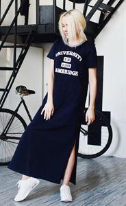 "Bild von Kleid ""Nora"" in marineblau Print ""Cambridge"""