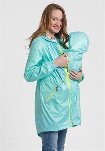 """Изображение Плащ 3в1 """"Джейн"""" для беременных и слингоношения; цвет: Аква"""