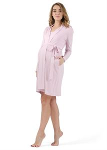 "Picture of ""Luciana"" Maternity and nursing  set color: pink"