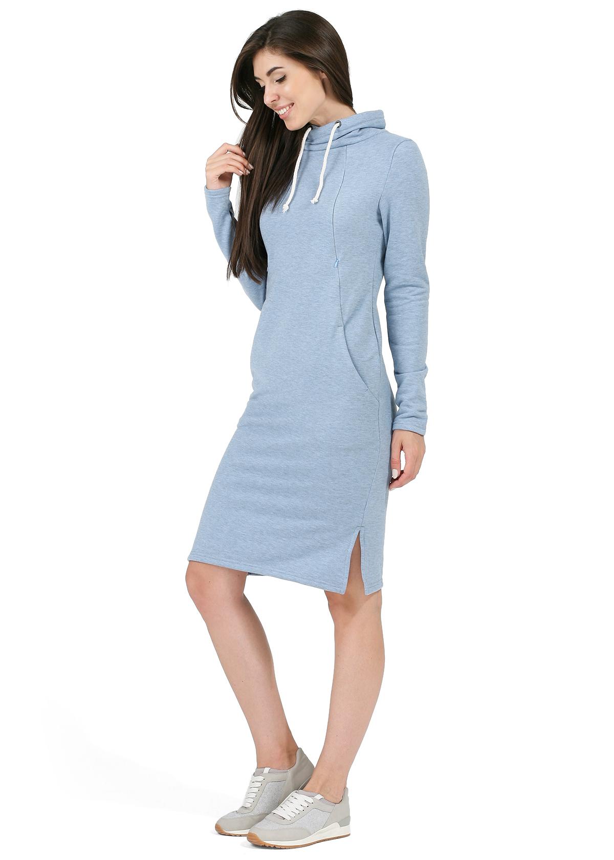 Kleider blau farben
