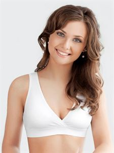 Picture of Bra - top for nursing Anna white