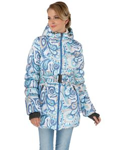 "Obrázek Zimní bunda ""Malta"" modrý vzor"