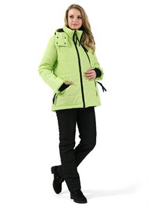 "Picture of Winter set 2 in 1 ""Vancouver"" Lime for pregnant women, usual"