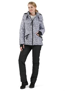 """Obrázek Sada: zimní bunda a kalhoty 2 v 1 """"Vancouver"""" pro těhotné ženy, obvyklé; barva: černá písmena na bílém"""