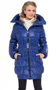 """Obrázek Zimní bunda  """"Island"""" barva: černo-modrá"""