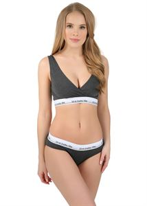 "Picture of ""Fit"" Underset for pregnant and lactating; color: dark melange"