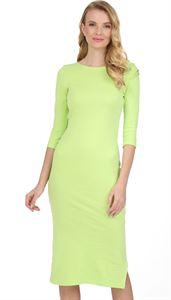 """Изображение Платье """"Марисса"""" для беременных; цвет: яблочный"""