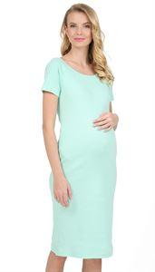 """Изображение Платье """"Хлоя"""" для беременных; цвет: ментол"""