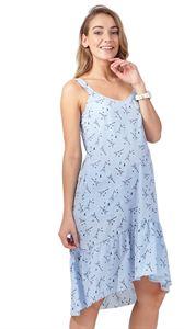 """Изображение Сарафан """"Блу Белль"""" для беременных голубой"""