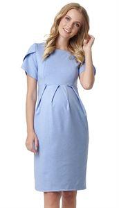 """Изображение Платье """"Камея"""" для беременных и кормящих; цвет: голубой меланж"""
