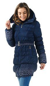 """Obrázek Zimní bunda 3в1 """"Island"""" barva: pletené vzory"""