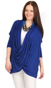 "Picture of Blouse - cardigan ""Amina"" cornflower"