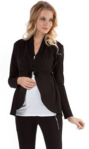 "Picture of Cardigan ""Vijay"" black maternity"