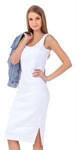 """Bild von """"Casarse"""" Umstandskleid und stillende; Farbe: weiß"""