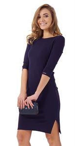 """Изображение Платье """"Марисса"""" для беременных; цвет: т.синий"""