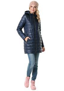 """Изображение Демисезонная куртка 3в1 """"Митчел"""" для беременных и слингоношения; цвет: синий"""