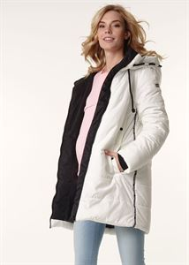 """Picture of Winter jacket 3in1 """"Seattle"""" for pregnant women and baby wear; color: milky"""