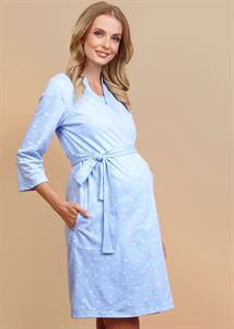 "Picture of ""Julie"" Maternity and nursing  set blue color"