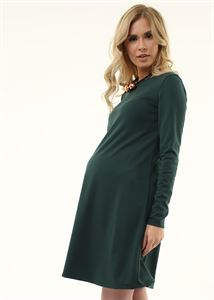 """Изображение Платье """"Эрлин"""" для беременных; цвет: бутылочный"""