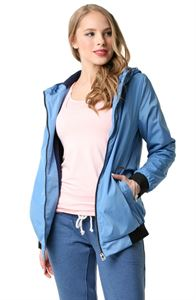 "Picture of Jacket demi-season 2 in 1 ""Orlando"" for pregnant women; blue color"