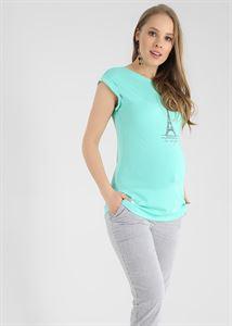 """Изображение Футболка """"Кристина"""" для беременных; цвет: ментол"""