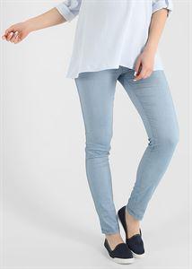 """Bild von """"Carmen"""" UmstandsJeans 2 in 1; Farbe: Light Denim"""