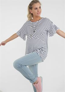 """Bild von T-Shirt """"Ariel"""" für Schwangere; weiße Farbe"""